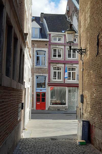 Knusse straatjes in Wyck Maastricht